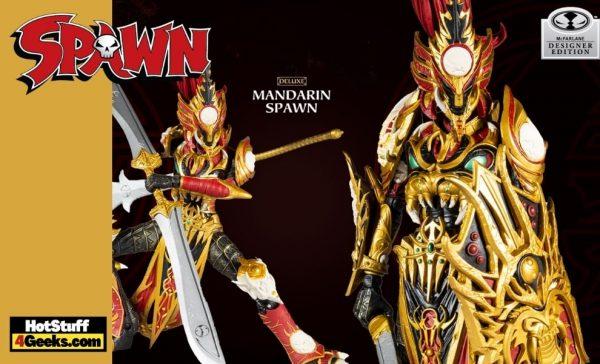 McFarlane Toys: Mandarin Spawn Deluxe 7-inch Action Figure - GameStop Exclusive