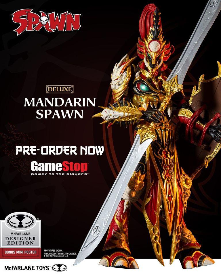 McFarlane Toys Mandarin Spawn Deluxe 7-inch Figure