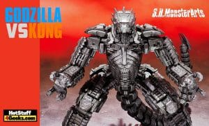 Tamashii Nations:  Godzilla vs. Kong - Mechagodzilla (2021)  S.H. MonsterArts Figure