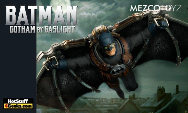 Mezco Toyz: One:12 Collective Batman: Gotham by Gaslight Statue