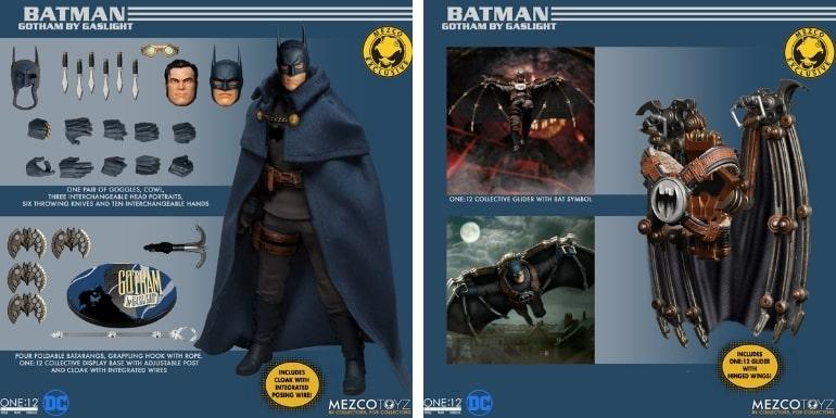 Mezco Toyz One12 Collective Batman Gotham by Gaslight Statue
