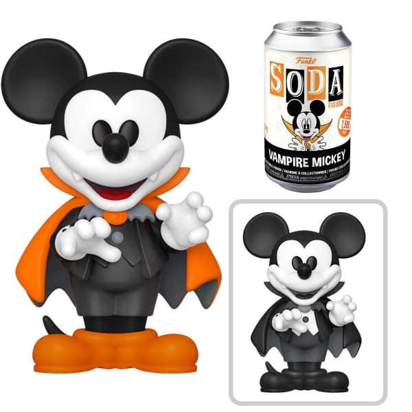 Mickey Mouse Vampire Mickey Vinyl Soda Figure - Funkoween 2021