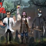 Neca: Toony Terrors – 6″ Scale Action Figure – Series 6 Assortment - Elvira, Captain Blake, Herbert West and The Miner