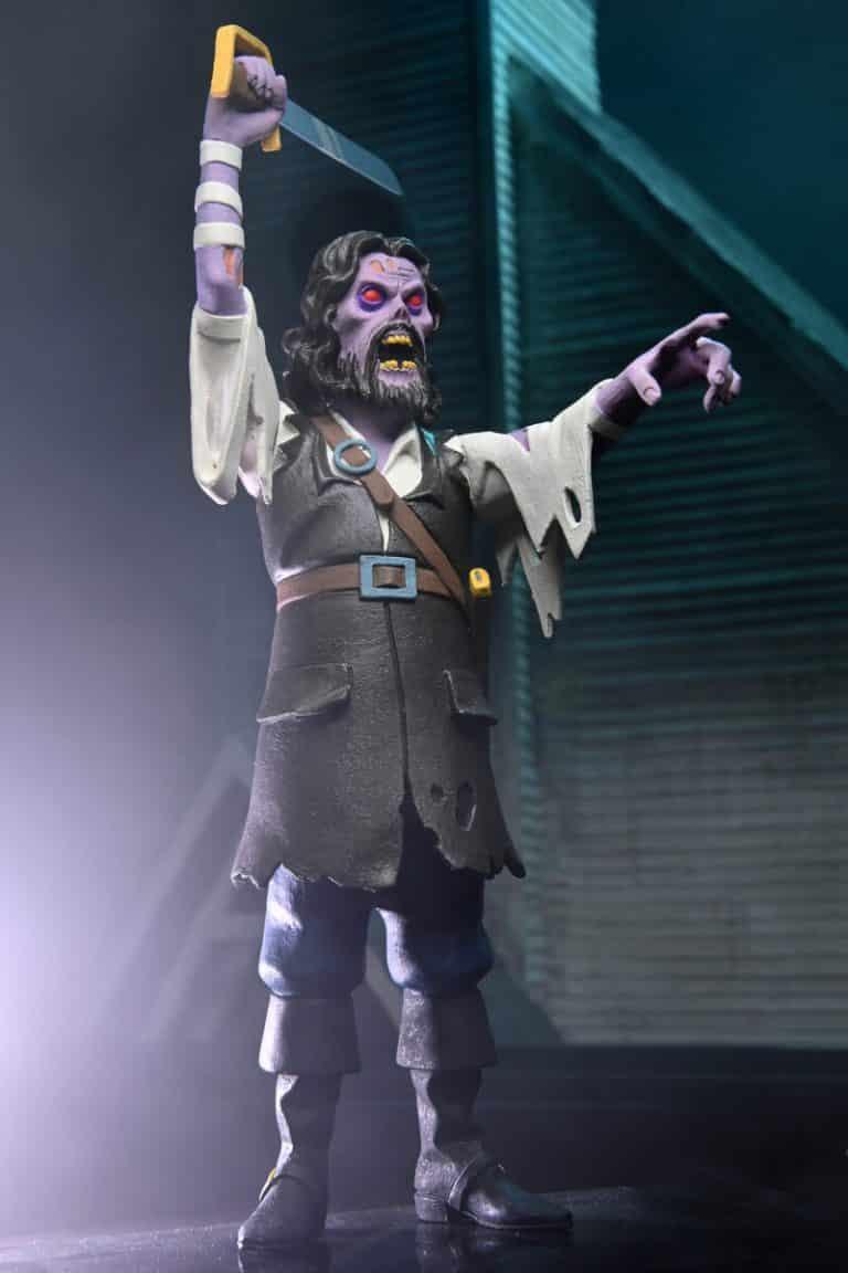 Neca: Toony Terrors – 6″ Scale Action Figure – Series 6 Assortment - Captain Blake (The Fog)