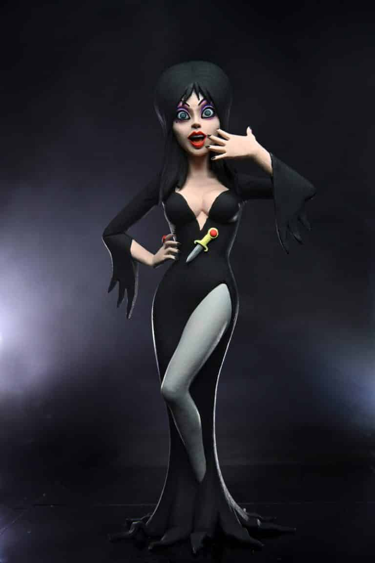 Neca: Toony Terrors – 6″ Scale Action Figure – Series 6 Assortment - Elvira (Mistress of the Dark)