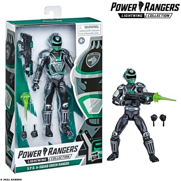 Power Rangers Lightning Collection S.P.D. A-Squad Green Range - BestBuy Exclusive