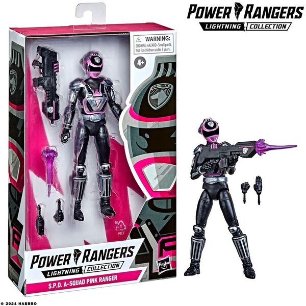 Power Rangers Lightning Collection S.P.D. A-Squad Pink Range - GameStop Exclusive
