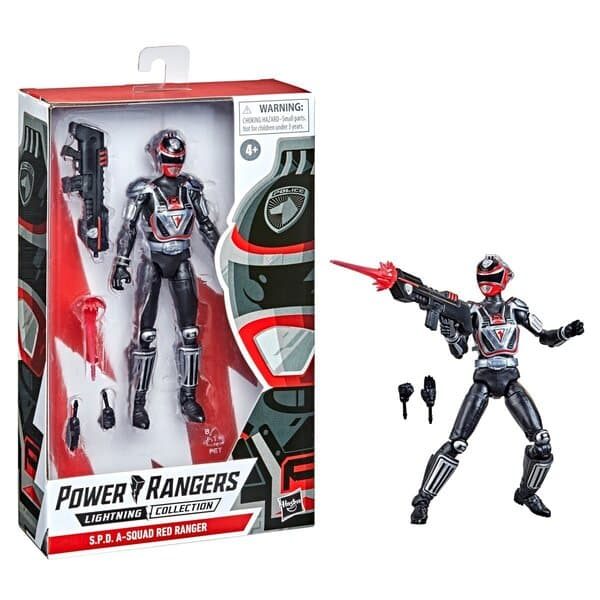 Power Rangers Lightning Collection S.P.D. A-Squad Red Ranger 6-Inch Action Figure