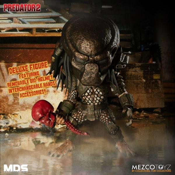 Mezco Toyz: Predator 2 - City Hunter Deluxe 6-Inch Action Figure