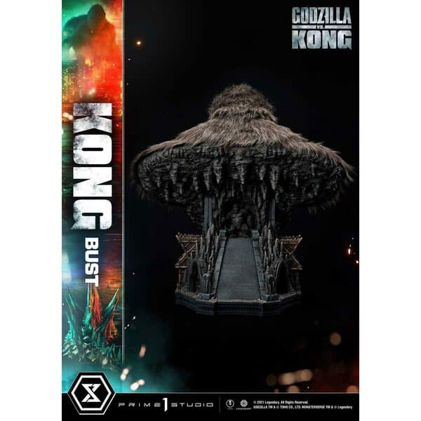 Prime 1 Studio Godzilla vs. Kong Kong 26-Inch Bust