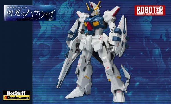 Bandai Tamashii Nations: Mobile Suit Gundam Hathaway: RX-104FF Penelope (Ka Signature) The Robot Spirits Action Figure