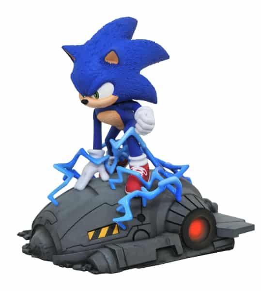 Diamond Select: Sonic the Hedgehog Movie Sonic 1:6 Scale Statue