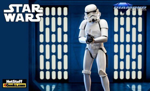 Diamond Select: Star Wars: A New Hope - Stormtrooper Milestone Statue