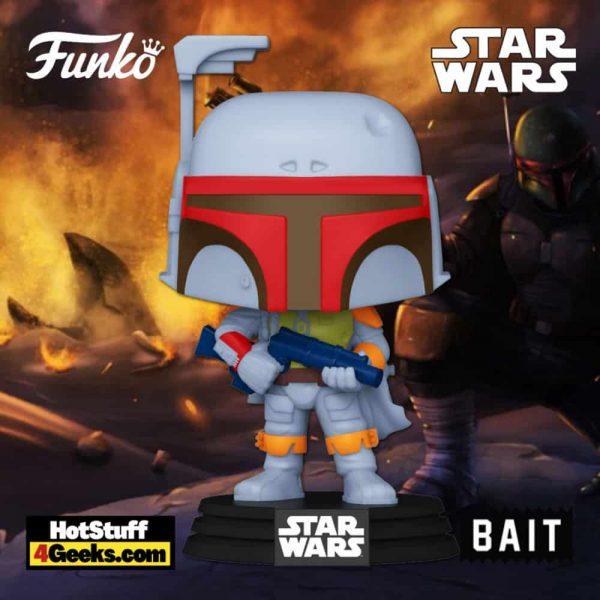 Star Wars Funko Pop! Boba Fett (Vintage) #297 Funko Pop! Vinyl Figure - Bait Exclusive