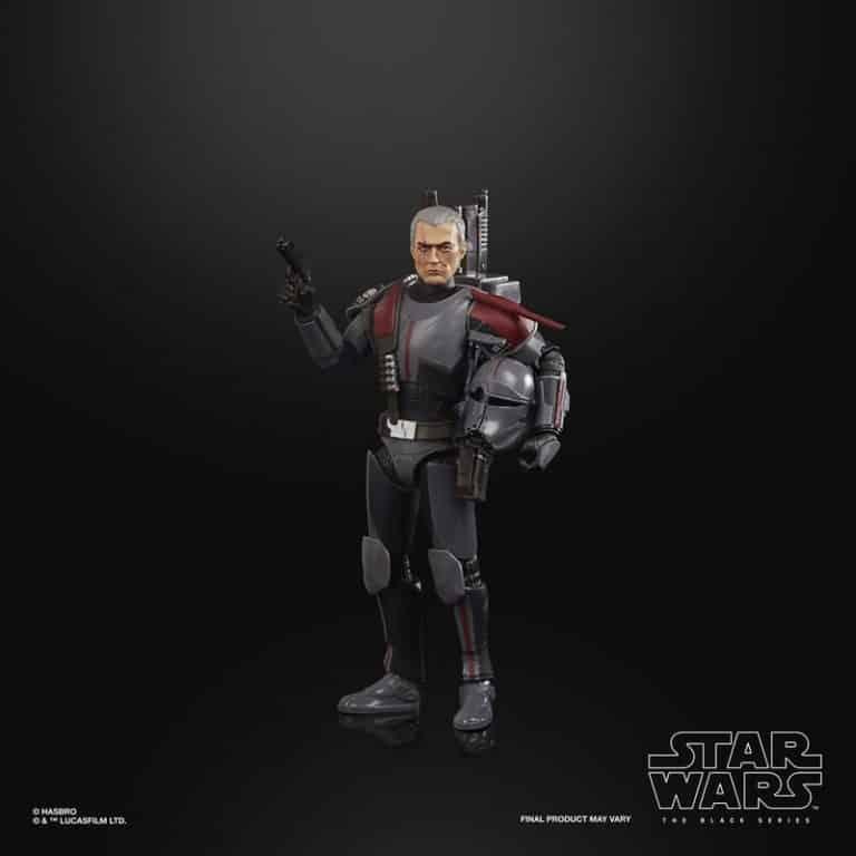 Star Wars The Black Series Bad Batch Clone Crosshair 6-Inch Action Figure