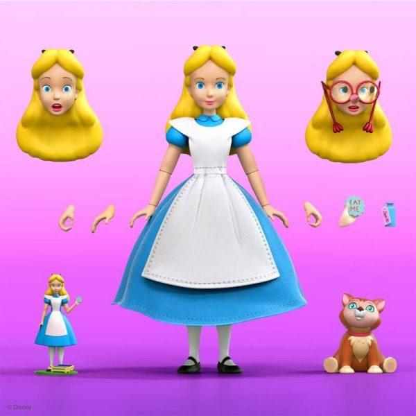 Super 7: Disney Ultimates Alice in Wonderland Alice Action Figure - Wave 2