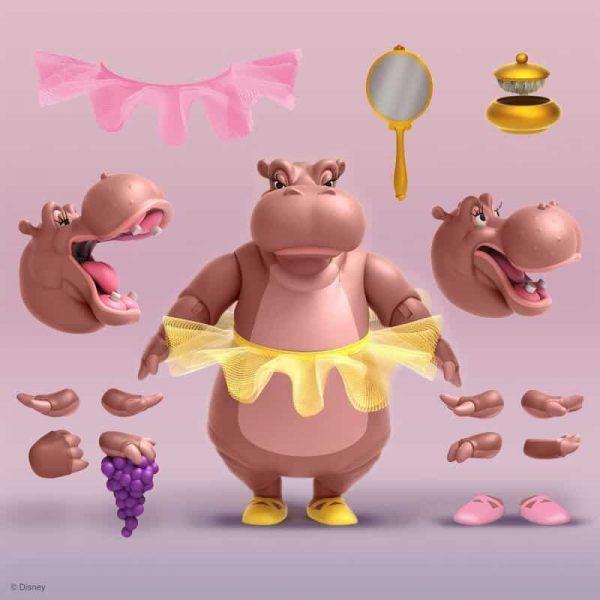 Super 7: Disney Ultimates Fantasia Hyacinth Hippo Action Figure - Wave 2