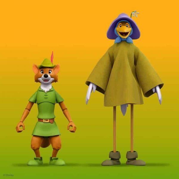 Super 7: Disney Ultimates Robin Hood with Stork Costume Action Figure - Wave 2