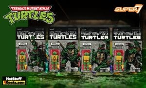 Super 7: Teenage Mutant Ninja Turtles – Mirage Comics Variant ReAction Figures