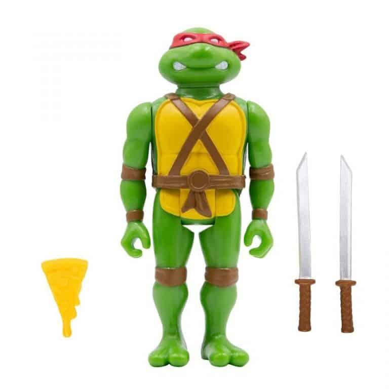Super 7: Teenage Mutant Ninja Turtles – Mirage Comics Variant ReAction Figures