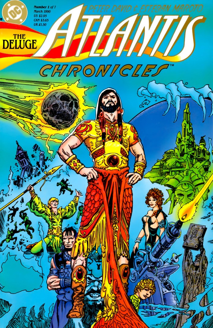 The Atlantis Chronicles (1990) by Peter David