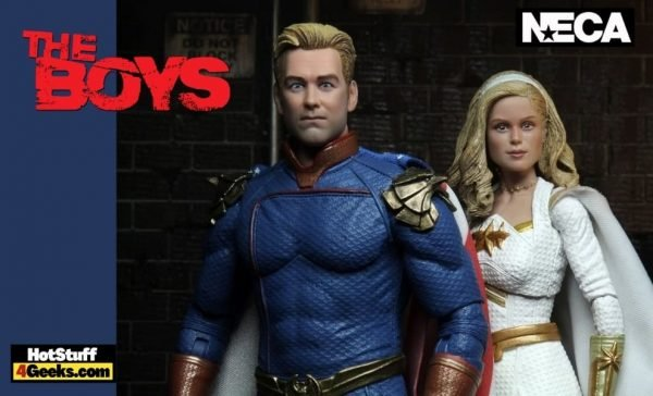 NECA: The Boys - Ultimate Homelander and Starlight Action Figures