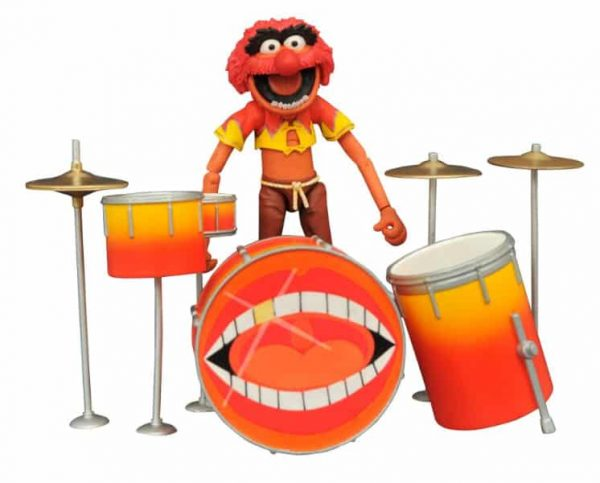 The Muppets Select Best of Series 3 - Animal & Drum Kit