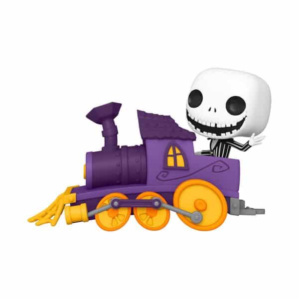 The Nightmare Before Christmas Jack in Train Engine Funko Pop! Train