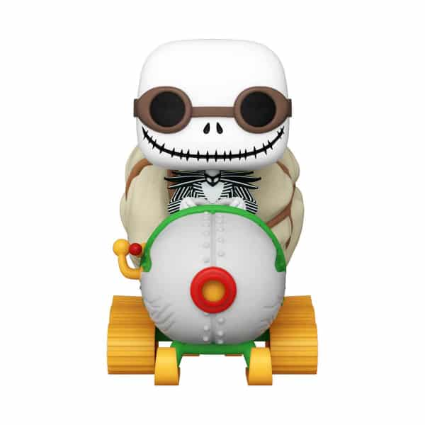 The Nightmare Before Christmas Jack with Goggles and Snowmobile Funko Pop! Vinyl Vehicle