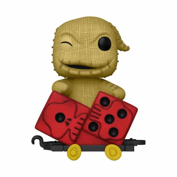 The Nightmare Before Christmas Oogie in Dice Cart Funko Pop! Train