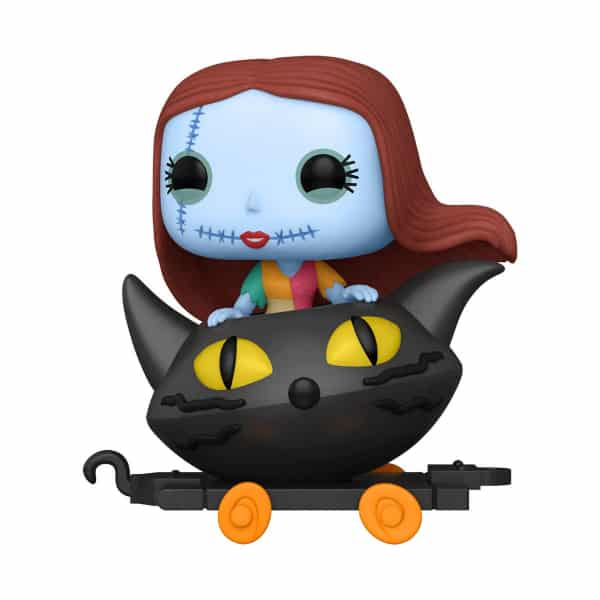 The Nightmare Before Christmas Sally in Cat Cart Funko Pop! Train
