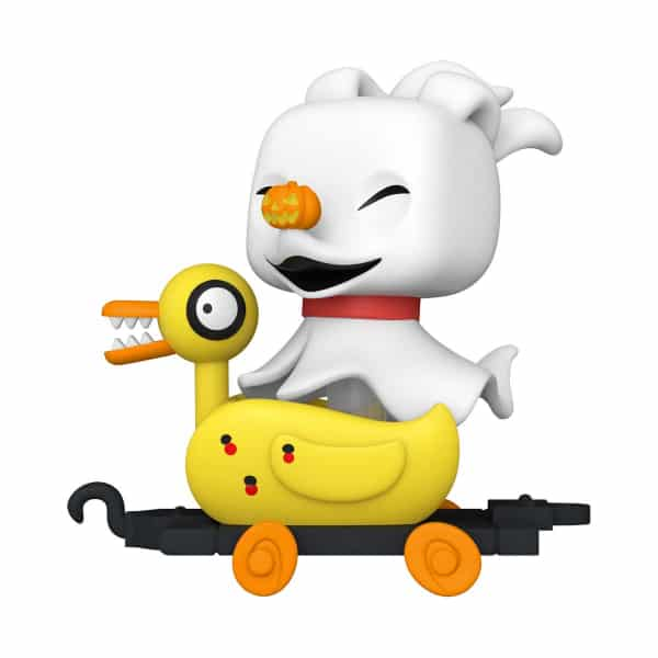 The Nightmare Before Christmas Zero in Duck Cart Funko Pop! Train