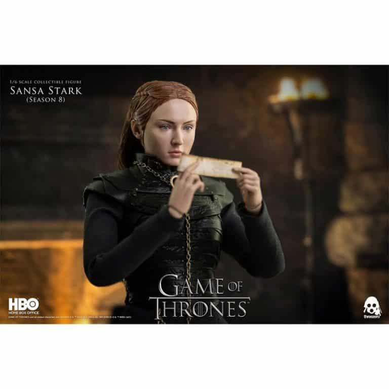 ThreeZero Game of Thrones - Sansa Stark Season 8 16 Scale Action Figure