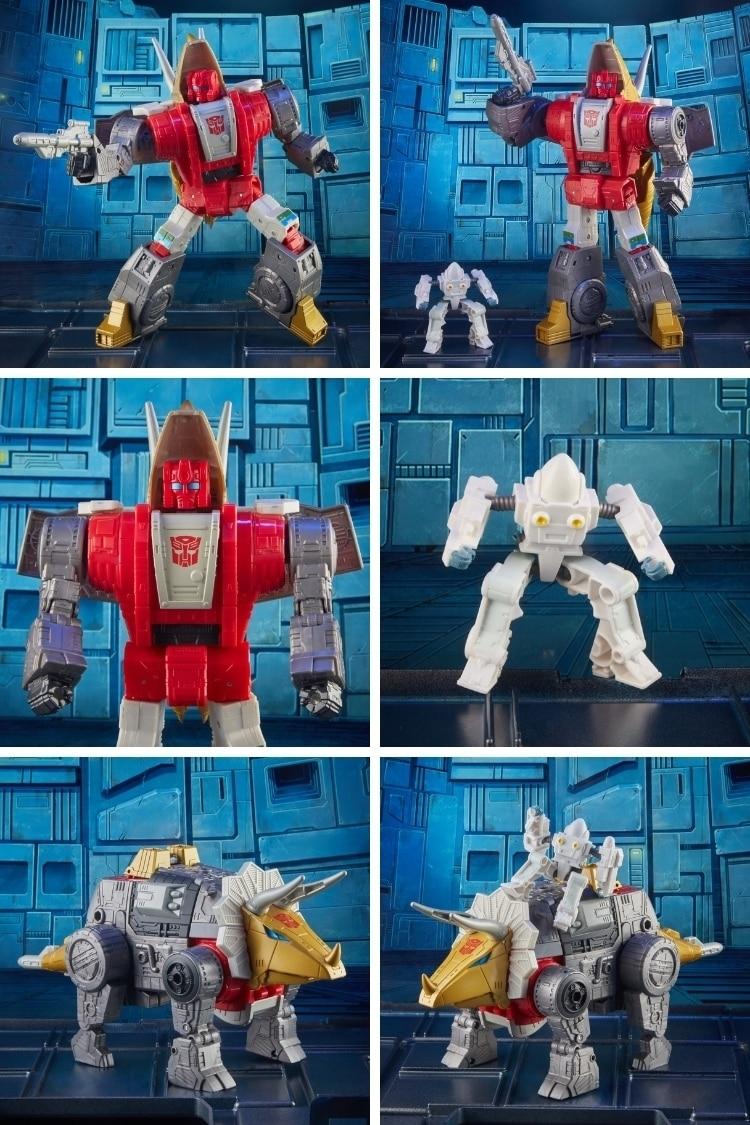 Transformers Studio Series 86 Leader Dinobot Slug and Daniel Witwicky