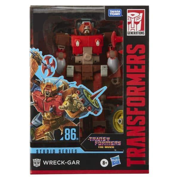 Transformers Studio Series 86 Voyager Wreck-Gar