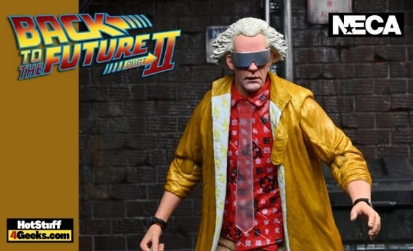 NECA: Back to the Future: Part II – Ultimate Doc Brown 2015 Version Action Figure
