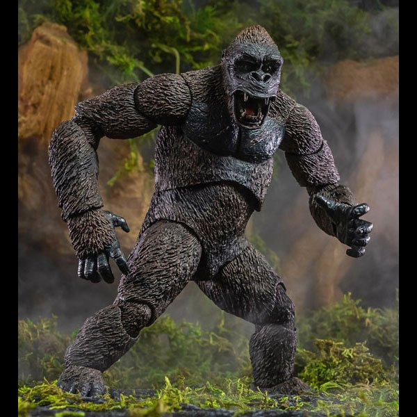 NECA: King Kong – Ultimate King Kong with Pteranodon and Pit Monster Action Figure
