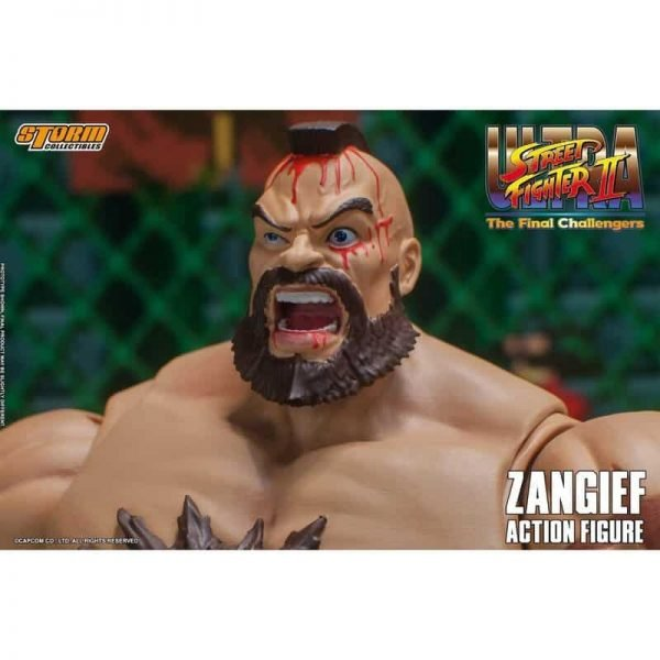 Storm Collectibles: Ultimate Street Fighter II: The Final Challenger Zangief 1:12 Scale Action Figure