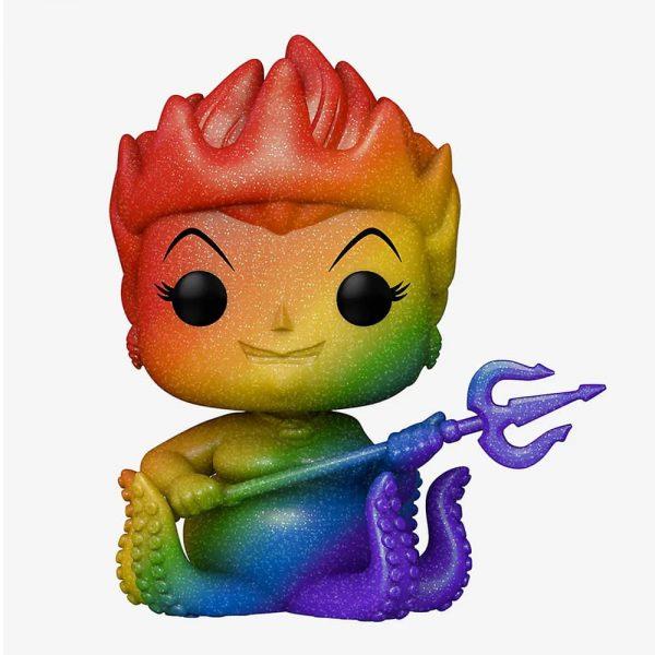 Ursula Pride 2021 Rainbow Diamond Collection Glitter Pop! Vinyl Figure - Hot Topic Exclusive