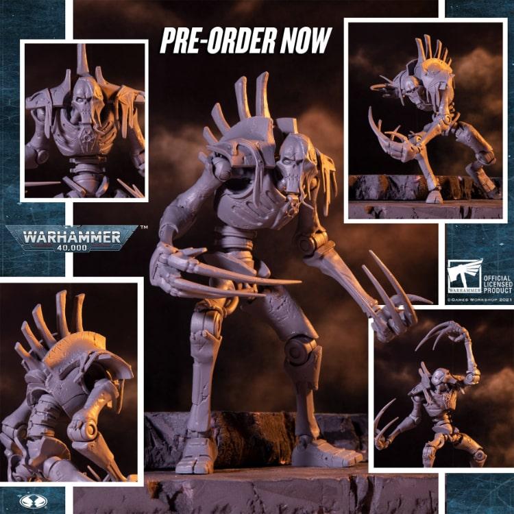 Warhammer 40,000 Wave 3 Necron Flayed One AP 7-Inch Action Figure - Artist Proof