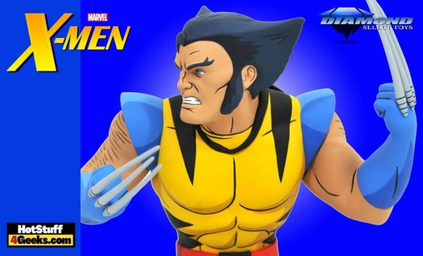Diamond Select Toys: X-Men Wolverine 6-Inch Unmasked Marvel Animated Bust– Walmart Exclusive