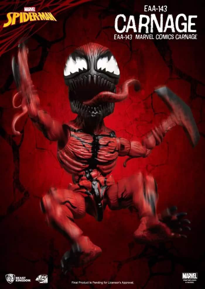 Beast Kingdom: Marvel Comics Carnage EAA-143 Action Figure