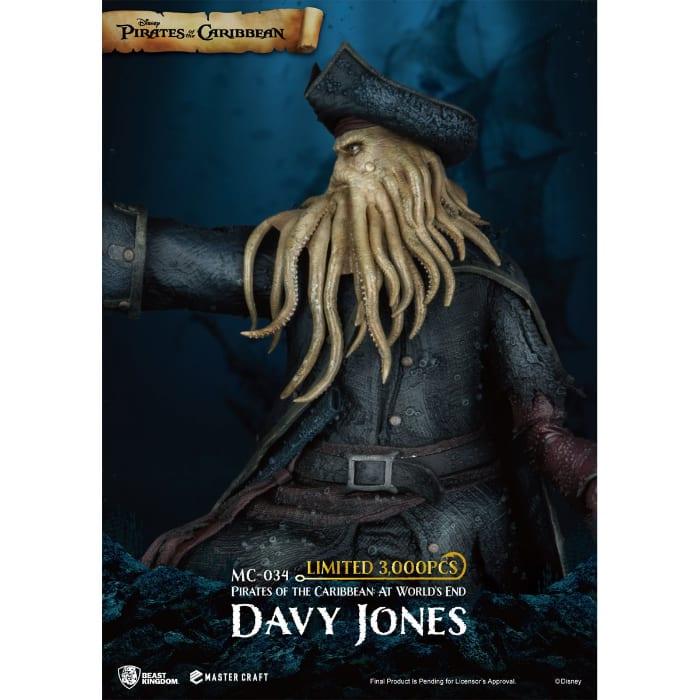 Beast Kingdom Pirates of the Caribbean Worlds End Davy Jones MC-034 Statue