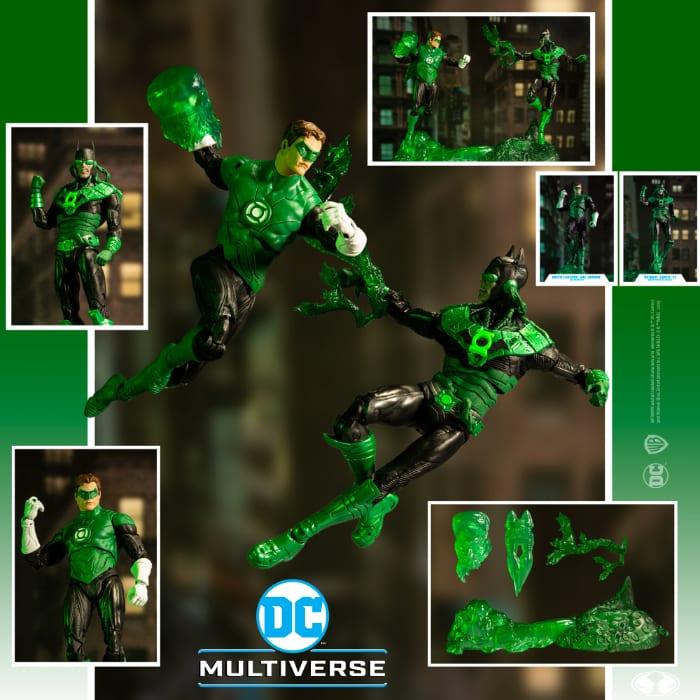 DC Collector Green Lantern Hal Jordan vs Dawnbreaker Action Figures