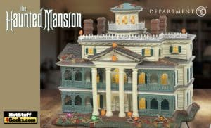 Department 56: Disney Snow Village Halloween Disneyland Haunted Mansion Light-Up Statue