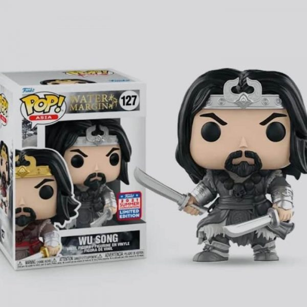 Funko POP! Asia: Freddy Funko (Kung Fu) & Wu Song Box Set (2-pack) Funko Pop! Exclusive - China 2021 Summer Convention Exclusive