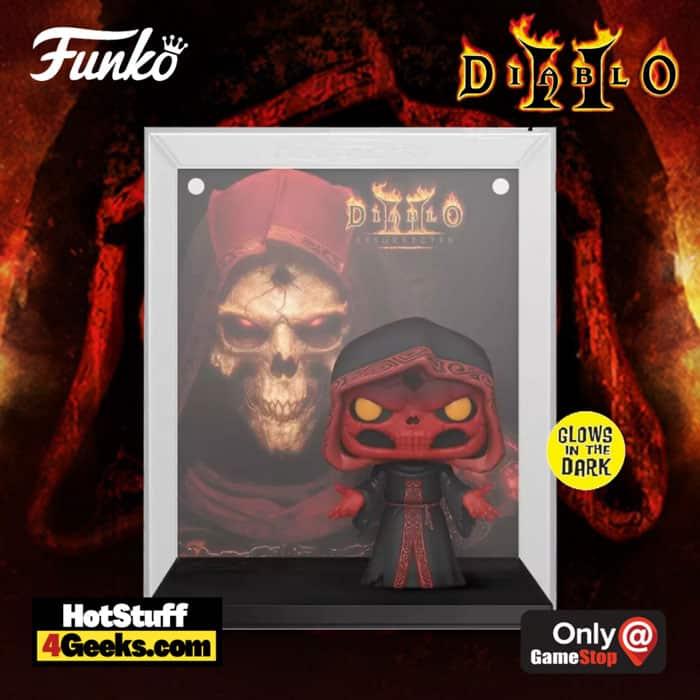 Funko POP! Game Cover: Diablo II: Resurrected Dark Wanderer Glow In the Dark Funko Pop! Vinyl Figure - GameStop Exclusive