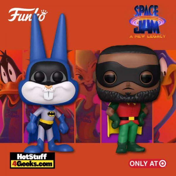Funko POP! Movies: Space Jam 2 - Bugs Bunny as Batman & LeBron James as Robin 2-Pack Funko Pop! Vinyl Figure -Target Exclusive