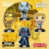 Funko POP! Star Wars: Retro Series - Darth Vader, Luke Skywalker, C-3PO and Stormtrooper Funko Pop! Vinyl Figures (Target Exclusive)