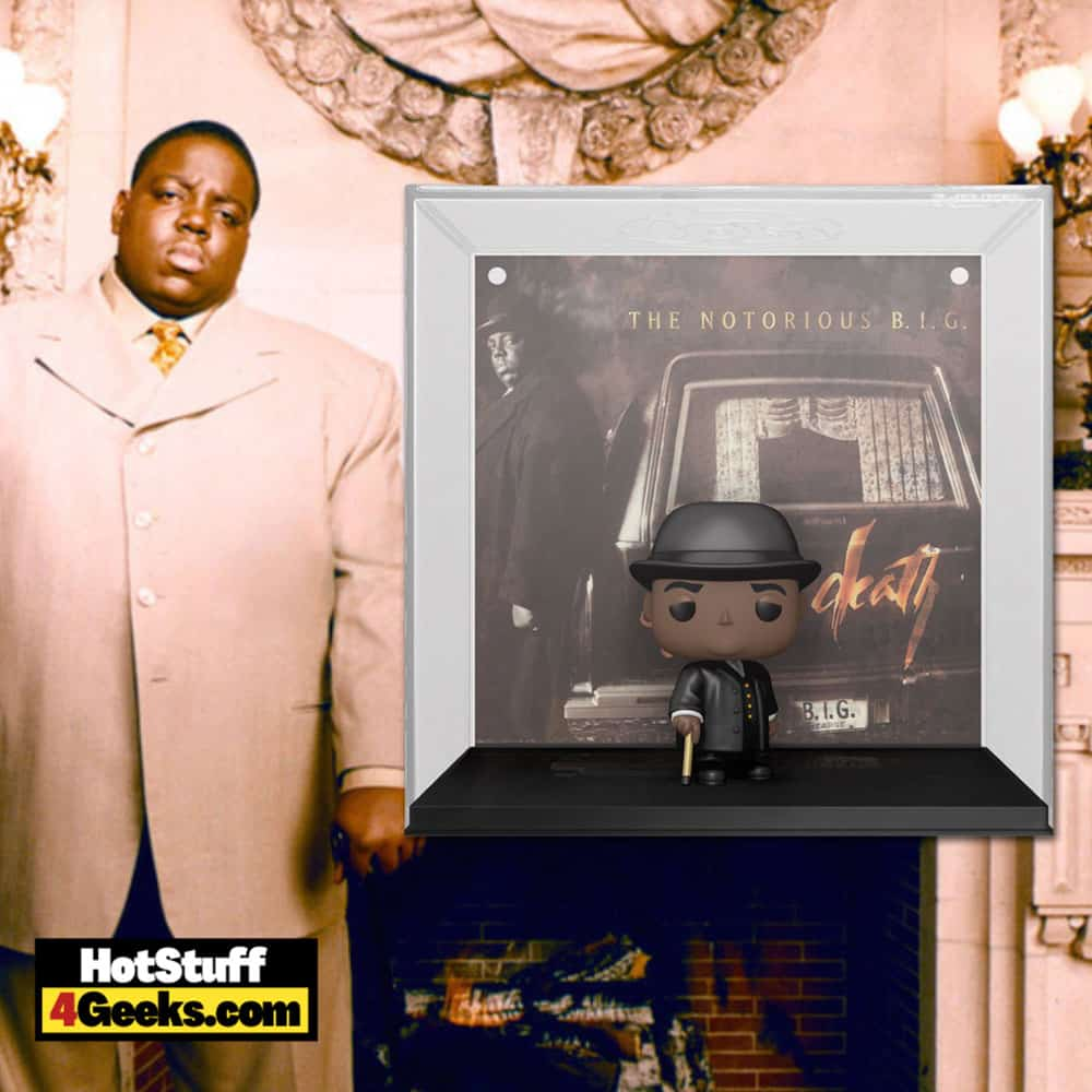 Funko Pop! Albums: The Notorious B.I.G. Life After Death Funko Pop! Album Figure with Case